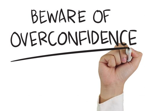 Beware of overconfidence